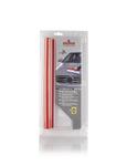 NIGRIN  71112 Силиконовый скребок для сушки автомобиля + кожаная для сушки автомобиля.